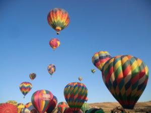 熱気球がいっぱい浮かぶ素敵な9月の週末 @ Great Reno Balloon Race